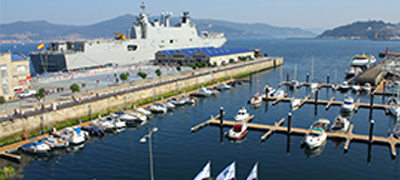 Puerto pesquero de Vigo